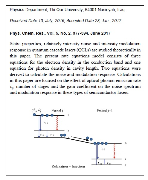 Modulation Response and Relative Intensity Noise Spectra in Quantum Cascade Lasers